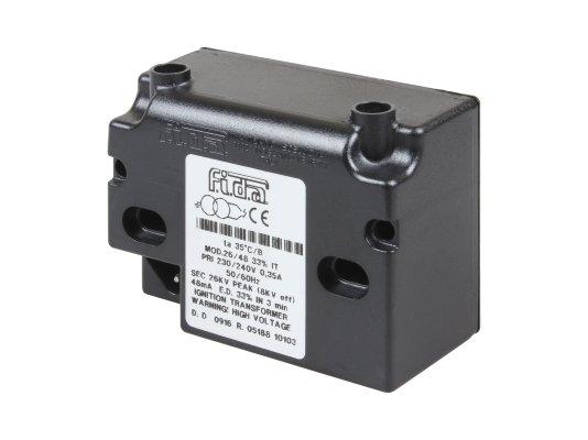 Трансформатор поджига 18.5 KV 30mA-2 polz (КРО-50-70)