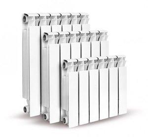 Биметаллический радиатор, (350мм)