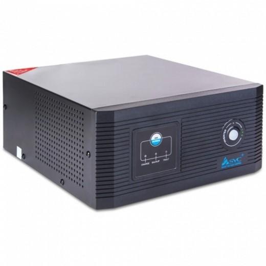 Инвертор SVC DIL 1200(1000) мощность ВА/360 Вт, вход 12В/выход 220В ( чистаясинусоида на выходе), функция заряда