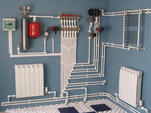 Газовое отопление в Астане